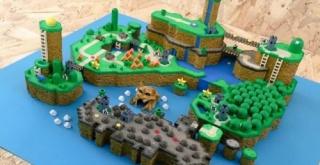 『スーパーマリオワールド』のマップを3Dモデルで再現!その完成が凄いと話題に!