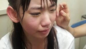 花火の音で泣いてしまったHKT48宮脇咲良ちゃん