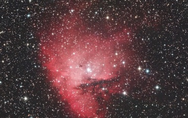 『星々を食べ尽くすパックマン星雲(NGC281)☆彡』の画像