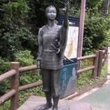『「心霊城」岡山の常山城「鶴姫」の「女軍塚」心霊スポットに中川翔子が遭遇【映っちゃった映像動画】』の画像