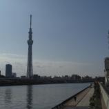 『東京スカイツリ-と隅田川』の画像