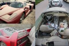 ドバイ路地裏のスーパーカーたちが可哀想すぎる…【ギャラリー】