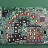 『ダイハツ ムーヴ メーターパネル部分のLED打ち換え(LED交換)手術』の画像