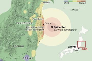 海外「日本だから安心してる」福島沖に地震が発生するも安心して見守る海外の人々
