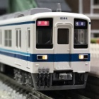 『KATO 東武8000系 入線』の画像