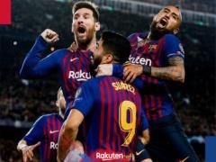 【 バルセロナ vs リバプール 】試合終了!後半はメッシが2ゴール!バルサが3-0でリバプールを下す!