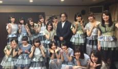 秋元康×乃木坂46の集合写真公開【GUM ROCK FES】