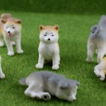 近頃大人気の忠犬「秋田犬」がミニチュアフィギュアになってガチャに登場!