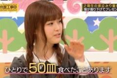 松村沙友理「回転寿司では50皿をペロリ」【乃木坂46】