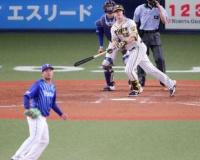 阪神サンズ7戦ぶり適時打「中野がつないでくれたから」一塁守備も堅実に