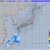 【速報】沖縄の現在の解析雨量・降水短時間予報図がヤバイwwwwwwwwwwwwwwwww