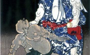 【画像】江戸時代の「初代横綱」身長が高すぎる!規格外wwwwww