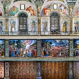 『行った気になる世界遺産 バチカン市国 システィーナ礼拝堂 南壁』の画像