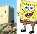 【画像】修復されたトルコの古城がスポンジボブみたいだと話題に