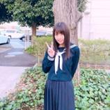 『スタジオゲストをキュンキュンさせた小林由依の制服姿が可愛すぎる!』の画像