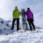 『那須・朝日岳1.896M°˖✧ 岩と雪と戯れに♬』の画像