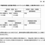 『(戸田市)新型コロナウイルス感染症拡大防止のための学校の臨時休業に伴う学童保育室の運営方針について(2020年2月28日更新)』の画像