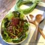 【レシピ】ご飯がススム♪十六ささげのコチュマヨ炒め♡ と なぜ7年も。と 保育園夏祭りレポ。