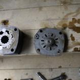 『ハニックスn080、旋回モーター不良つきオーバーホールです。』の画像