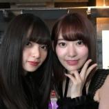 『【乃木坂46】齋藤飛鳥と宮脇咲良が至近距離で顔を並べた結果wwwwww』の画像