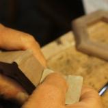 『仏壇の小物製作』の画像