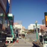 『松菱の空中廊下がついに撤去、ザザシティ東側の通りが超スッキリ!』の画像