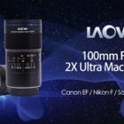 『新製品:LAOWA100mmF2.8マクロ 8/2(金)発売&サマーセール入門機 2019/07/26』の画像