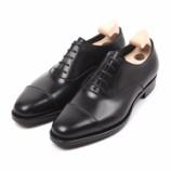 『誂靴 | JOE WORKS JOE-0 CAP TOE ワインハイマーBLACK』の画像