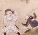 「一人だけRPGの初期装備」「無課金勢やろ」…長篠の戦いの屏風絵に描かれた、軽装すぎる謎の兵士が話題
