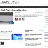 『コミュニティはメディアになる LinkedInがソーシャルニュースサイトに【湯川】』の画像