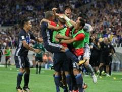 日本W杯決めた!瞬間最高視聴率35.0%!なお、前回のブラジルW杯予選は・・・