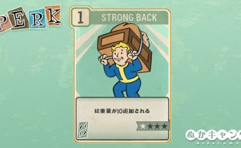 Fallout 76:Strong Back(Strength)