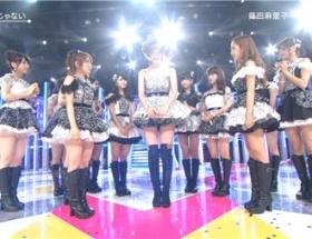 篠田麻里子、最後の「Mステ」でタモリからの花束贈呈に感動