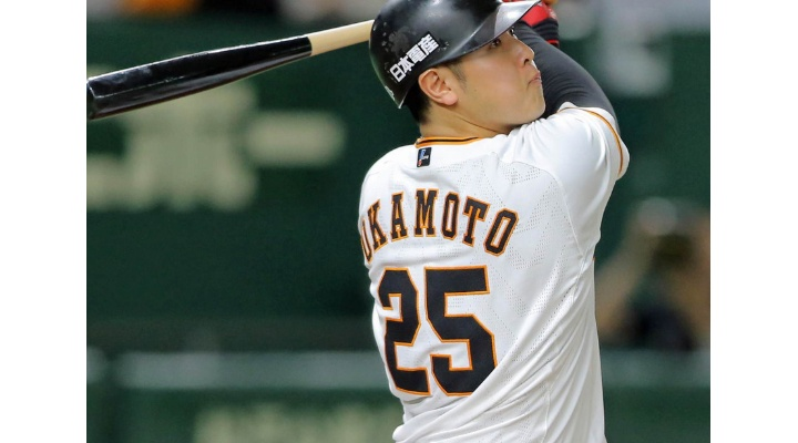 巨人・岡本和真 .268 26本 78打点