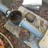『井戸のフィルター掃除』の画像