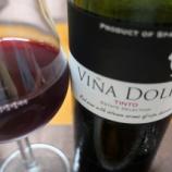 『スペイン産赤ワイン「Vina Dolia Tinto(ヴィニャ・ドリア)」とビーフシチュー』の画像