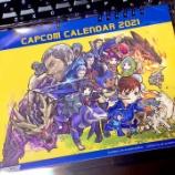 『カプコンカレンダー2020の表紙を描かせて頂きました』の画像