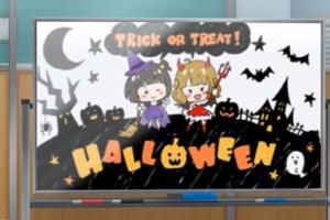 【ミリシタ】ホワイトボードがハロウィン仕様に!
