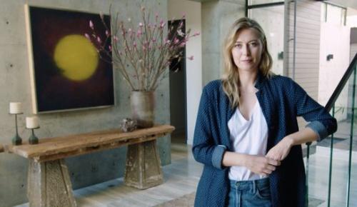 シャラポワが日本風を取り入れた自宅を公開(海外ファンの反応)