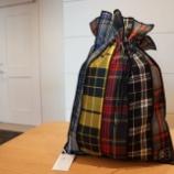 『KEITAMARUYAMA(ケイタマルヤマ)ブリティッシュチェック巾着』の画像