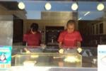 たこ焼きはフォークで食すのがよい!交野市駅徒歩1分、『パンダ』のたこ焼きはほっこり味♪