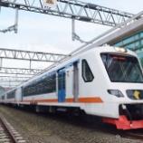 『スカルノハッタ空港連絡線、入線試験兼初客扱い(11月25日)』の画像