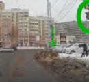ロシアの横断歩道で撮影された「信号ルールを守るワンコ」に称賛の声