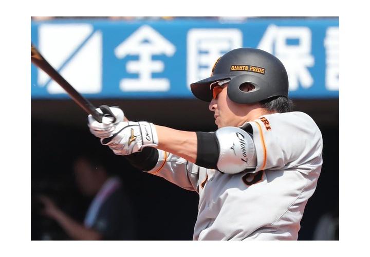 最近5試合の巨人・長野さん  .500(14-7) 5打点 出塁率.593(17-10)