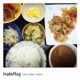 『今日の栗林公園昼食(豚の味噌漬け焼き)』の画像