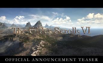 『The Elder Scrolls VI』が開発中!公式アナウンストレーラーが公開!