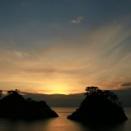 夕陽 堂ヶ島