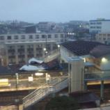 『【台風15号】JR東千葉駅の駅舎の屋根がほとんど吹き飛ぶ被害』の画像
