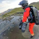 『空飛ぶ救出スーツ』の画像