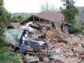 グンマーで家屋崩壊
